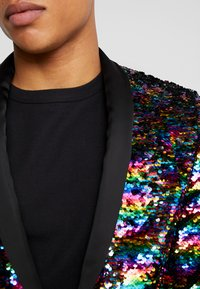 Twisted Tailor - LIQUORICE JACKET EXCLUSIVE PRIDE - Giacca - rainbow - 3