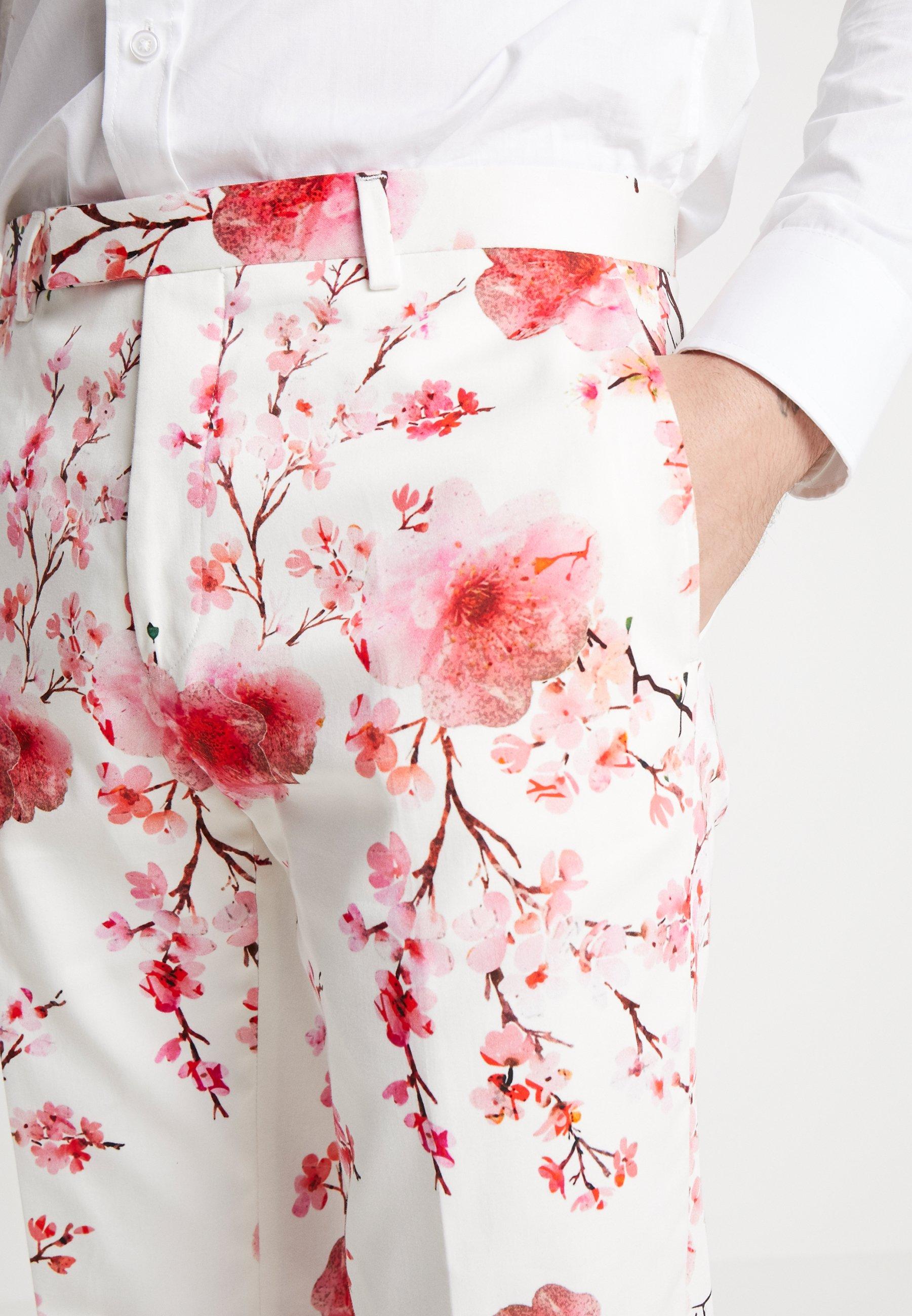 Twisted Tailor MULLEN SUIT - Garnitur - white