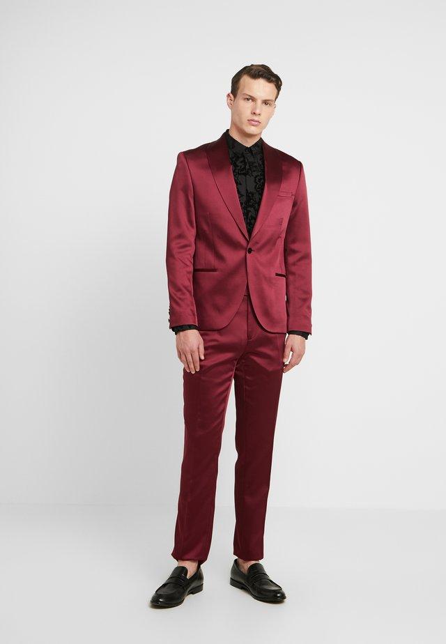 DRACO SUIT - Suit - bordeaux