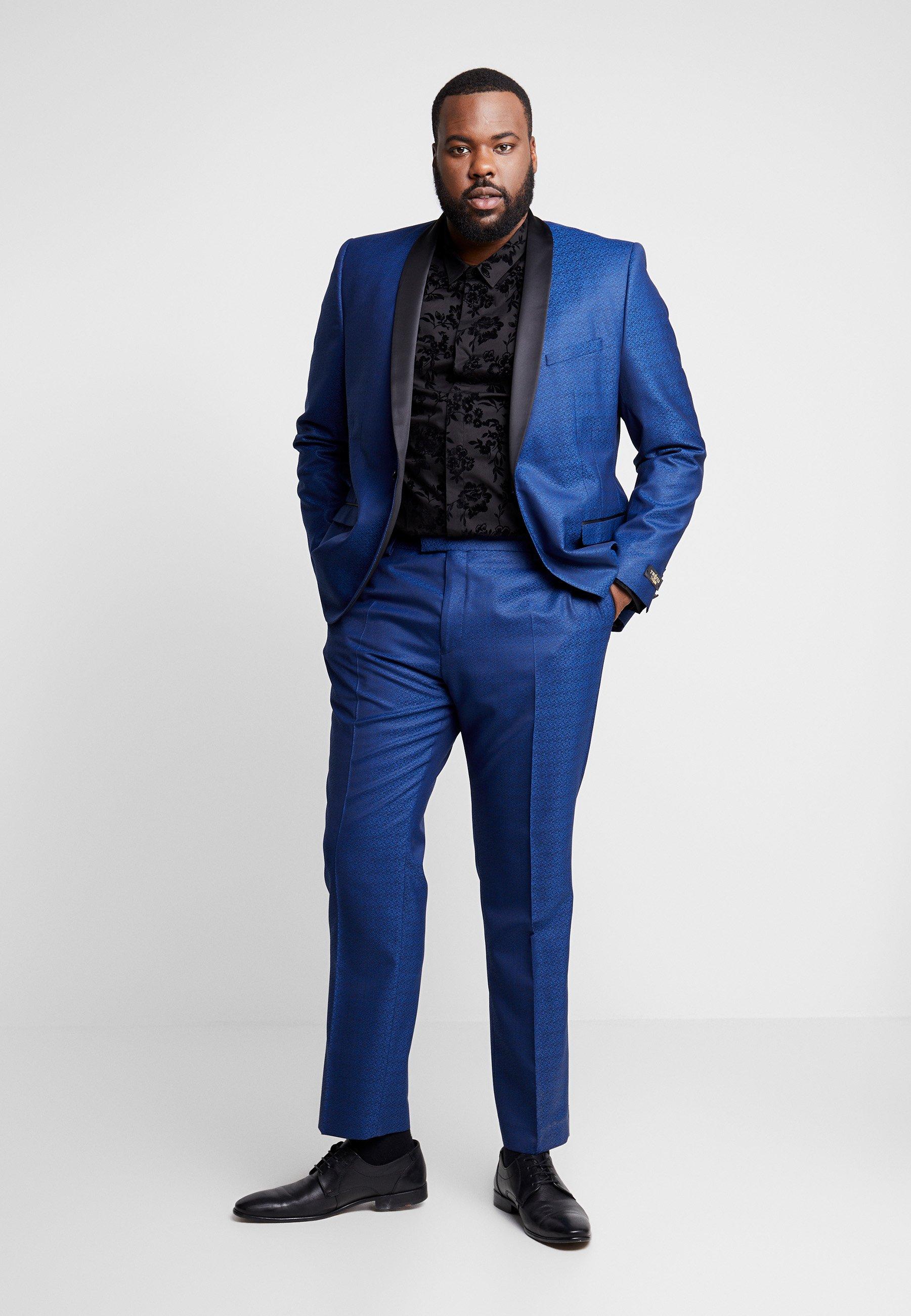 Twisted Tailor Regan Suit Plus - Jakkesæt Blue
