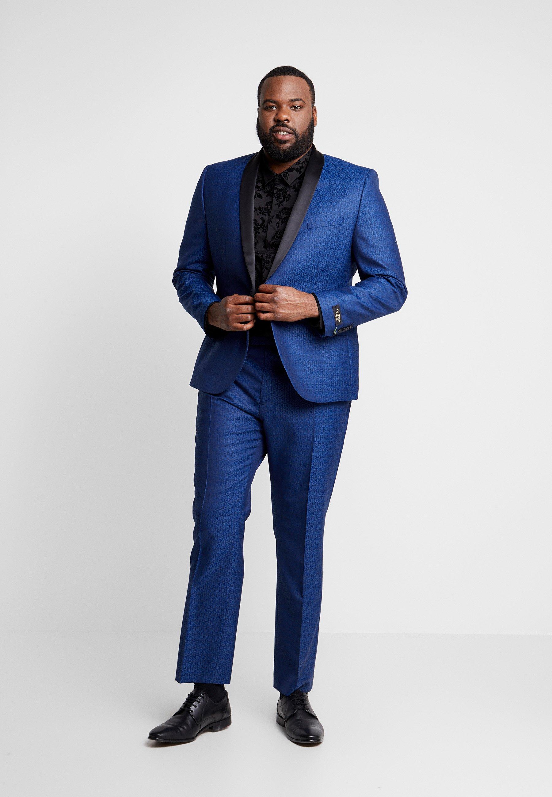 Twisted Tailor REGAN SUIT PLUS - Garnitur - blue