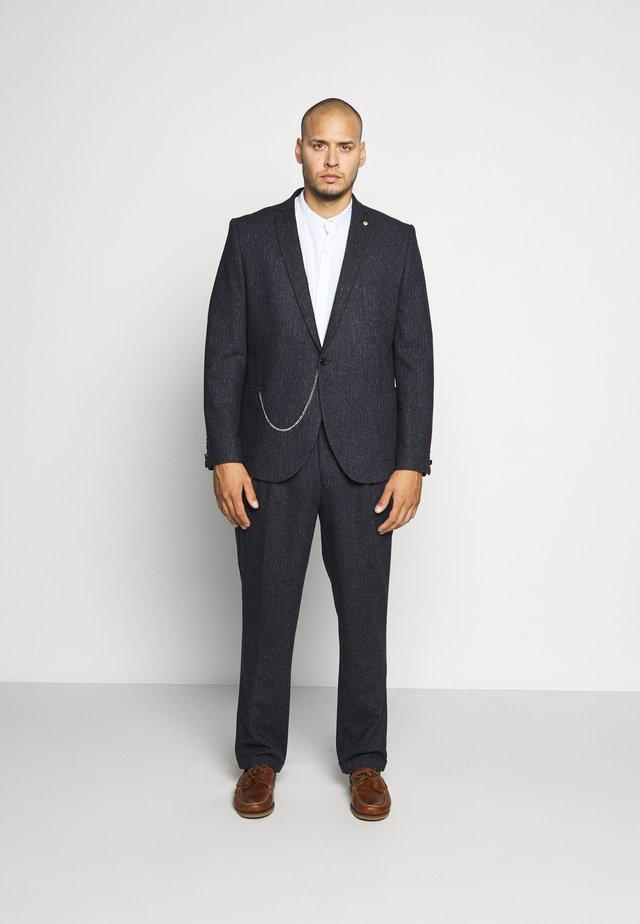 SNOWDON SUIT PLUS - Suit - charcoal