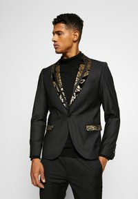 Twisted Tailor - VOLPI BLAZER - Suit jacket - black - 0