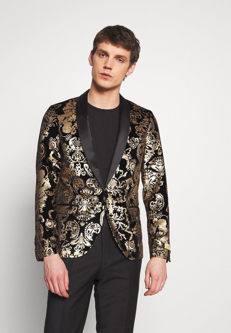 Twisted Tailor - IGGY BLAZER - Veste de costume - gold
