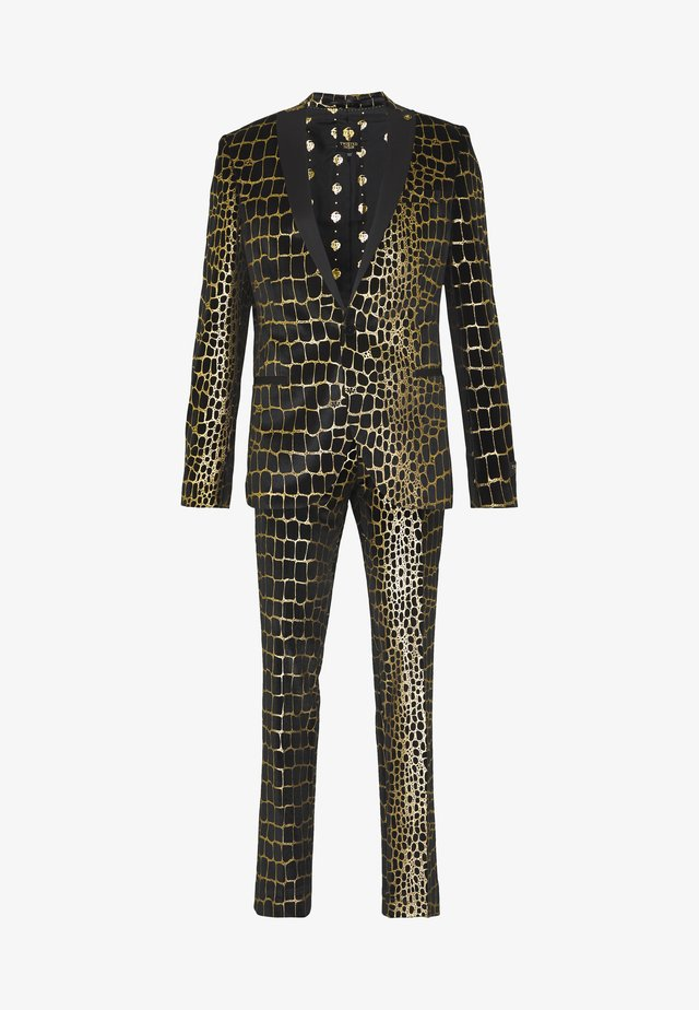 BEGBY SUIT - Anzug - black gold