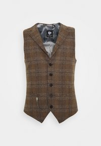 Twisted Tailor - PETTIS WAISTCOAT - Waistcoat - brown - 0