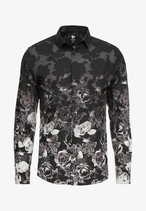 ONO FLORAL SLIM FIT - Shirt - black