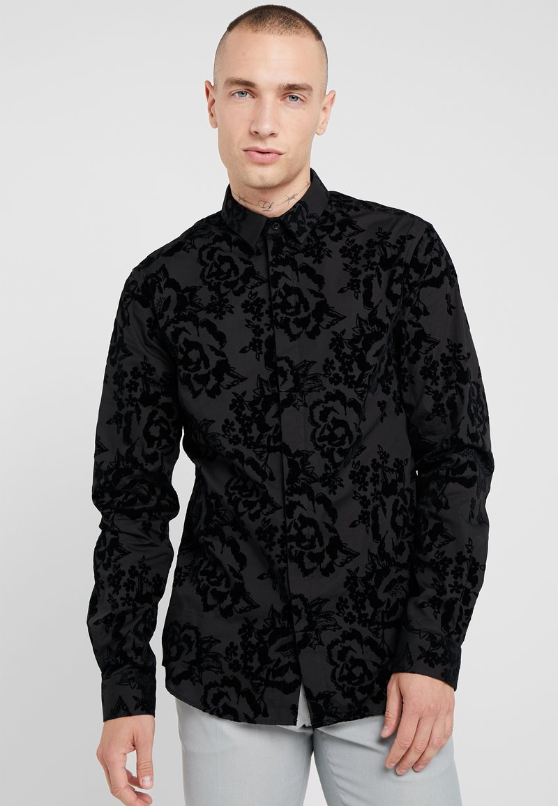 Twisted Tailor - VICTORY - Shirt - black