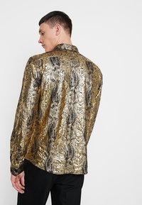 Twisted Tailor - BRAGA  - Camicia - gold - 2