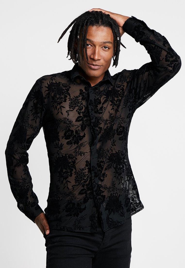Twisted Tailor - OSAMU - Skjorter - black