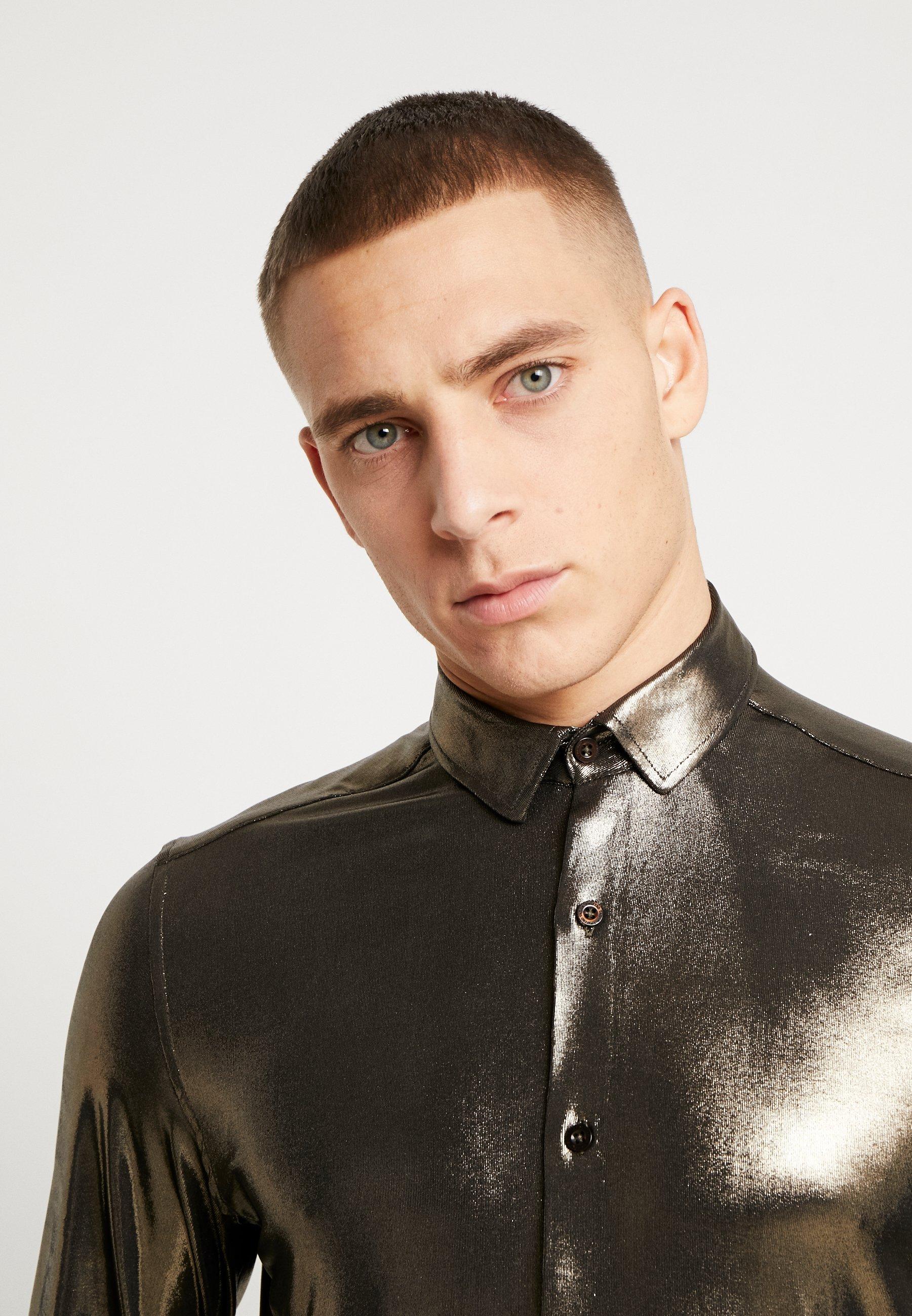 Twisted Tailor MARQUEZ - Koszula - gold