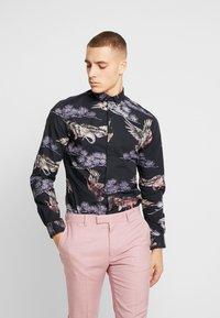 Twisted Tailor - CRANE - Shirt - black - 0