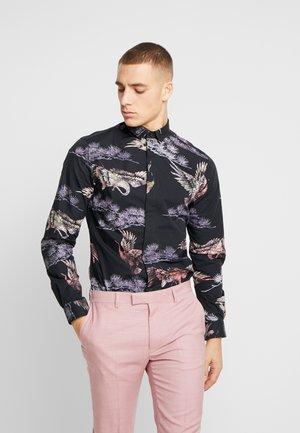 CRANE - Camicia - black