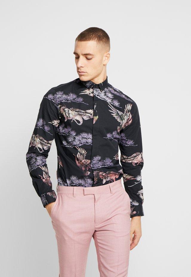 CRANE - Košile - black