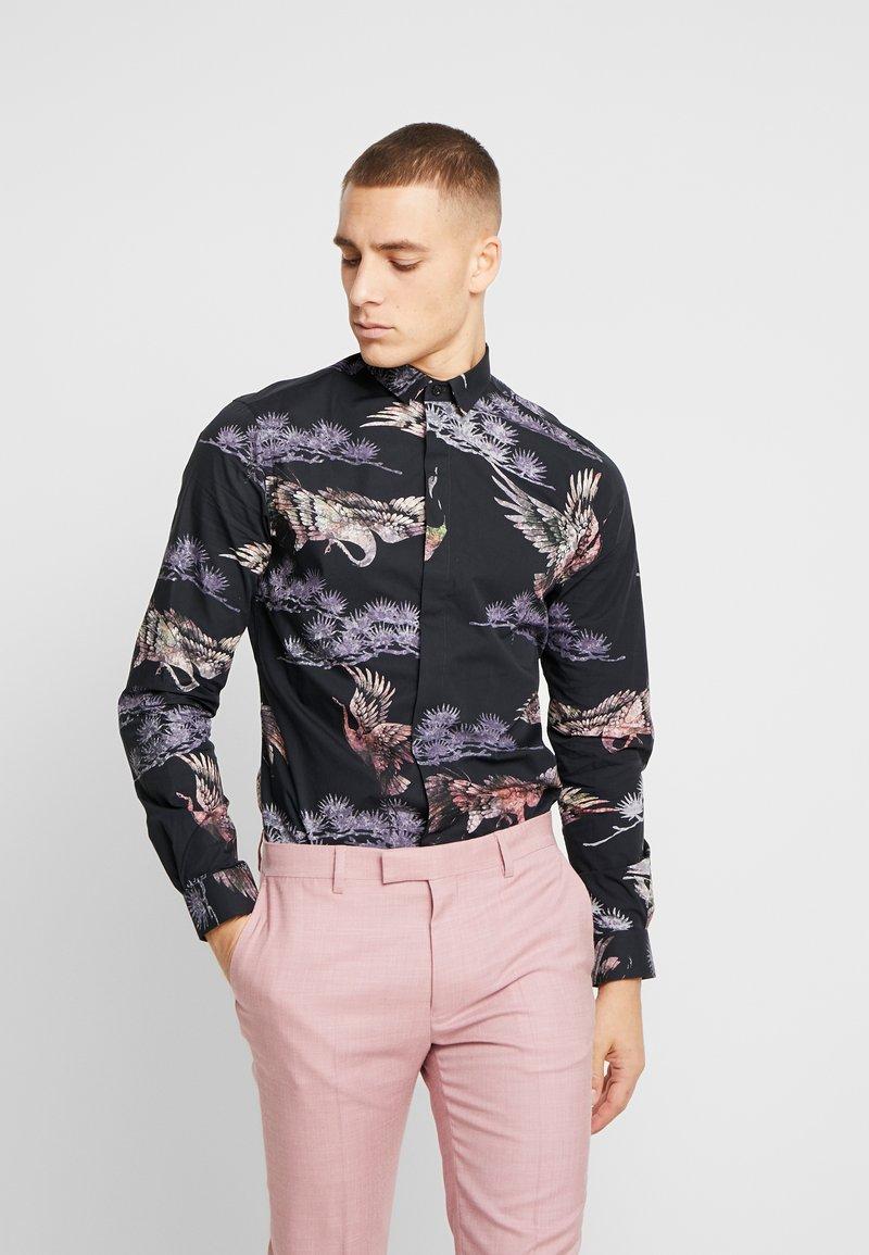 Twisted Tailor - CRANE - Shirt - black
