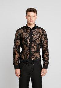 Twisted Tailor - HAYEK - Koszula - black - 0