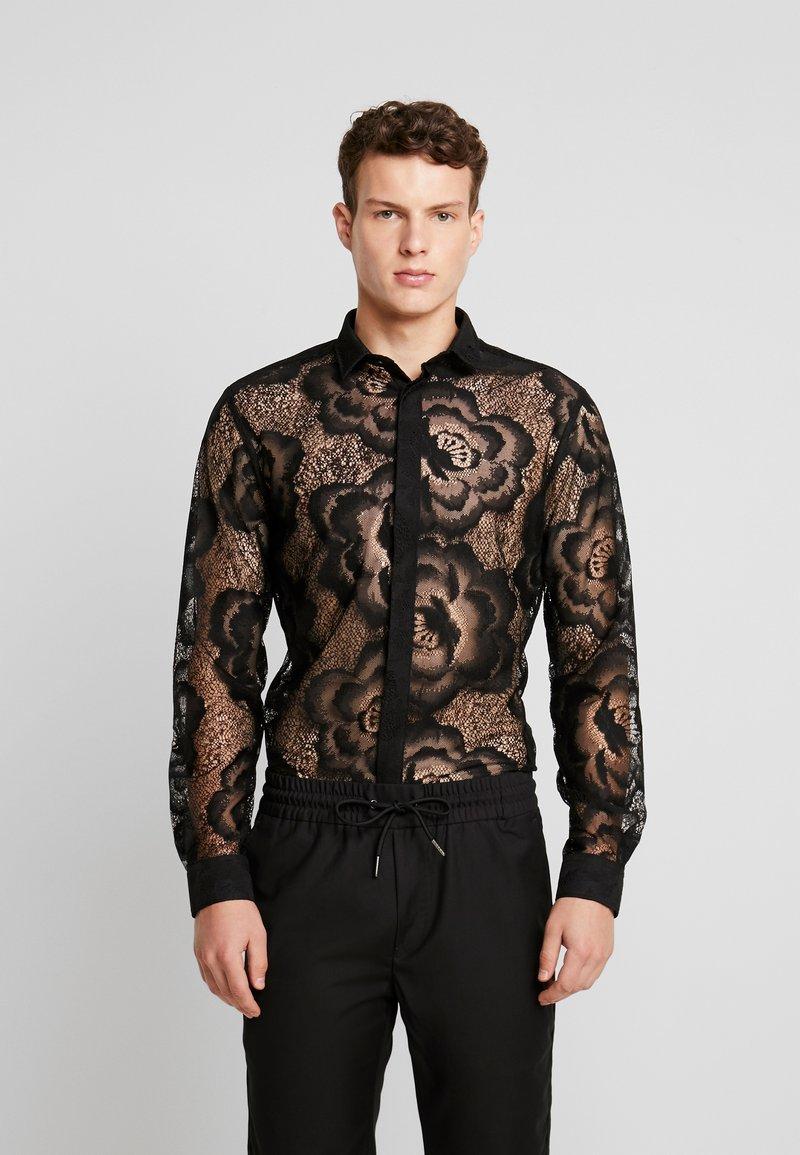 Twisted Tailor - HAYEK - Koszula - black