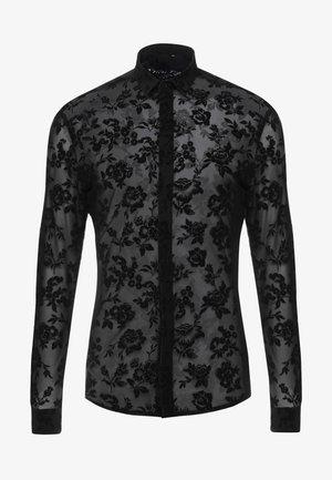 KASH FLORAL SHIRT - Overhemd - black