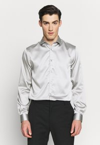 Twisted Tailor - SLINKY - Shirt - silver - 0