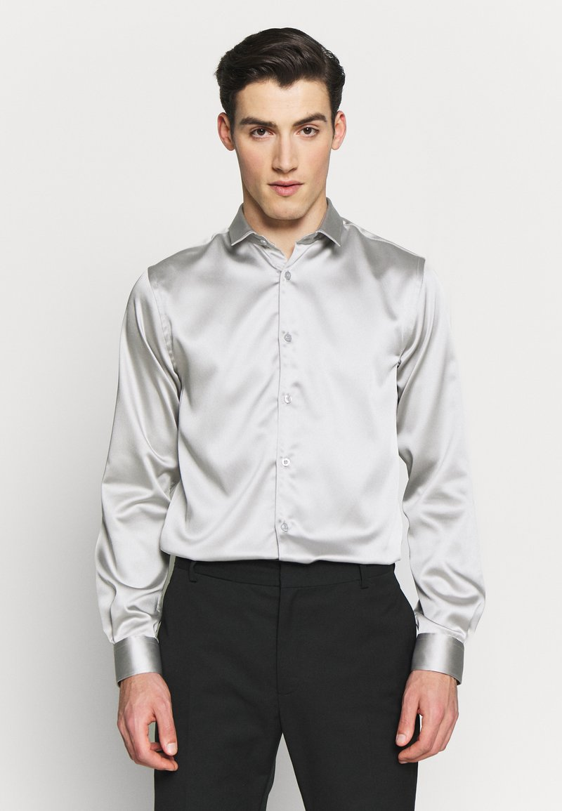 Twisted Tailor - SLINKY - Shirt - silver