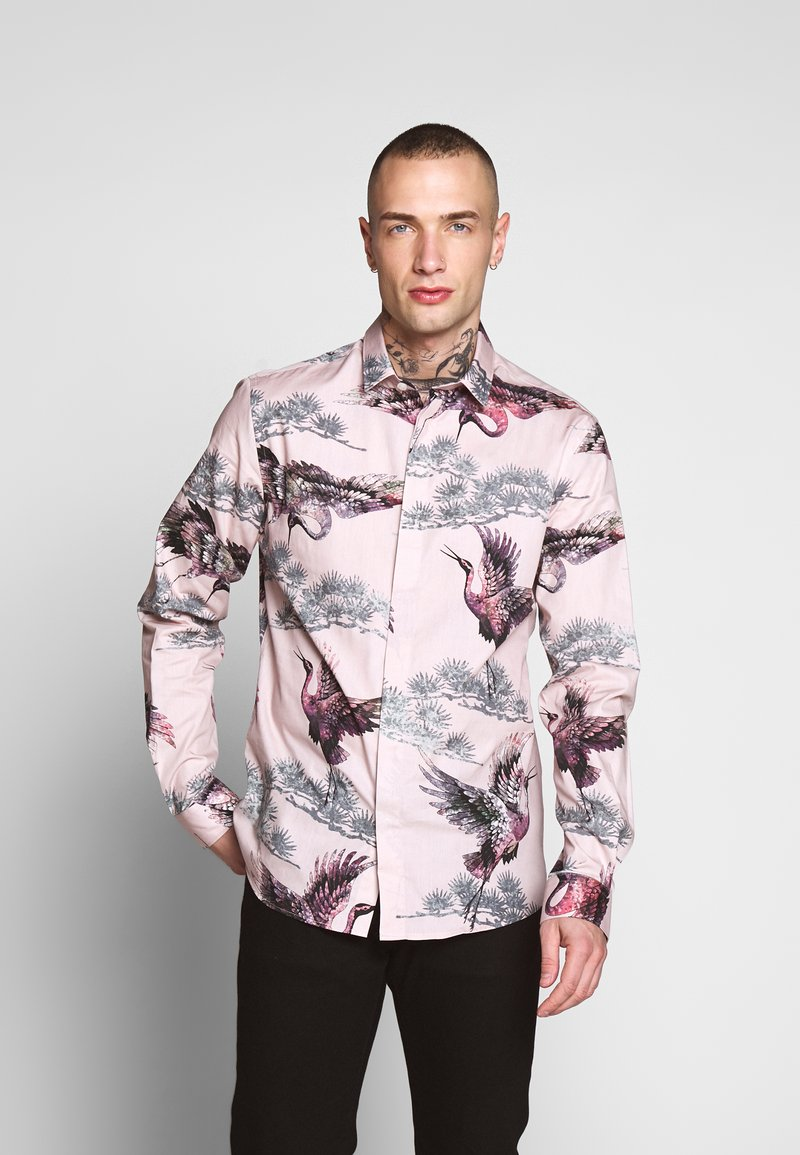Twisted Tailor - CRANE - Shirt - pink