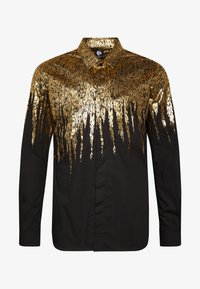 Twisted Tailor - LISZT - Chemise - black/gold