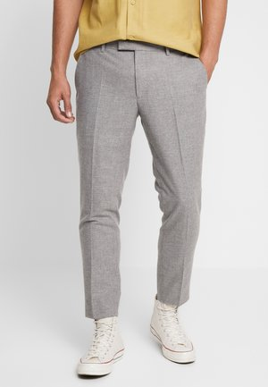 MOONLIGHT TROUSERS - Suit trousers - light grey