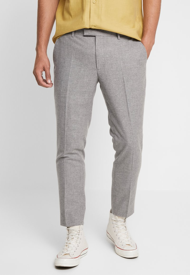 Twisted Tailor - MOONLIGHT TROUSERS - Spodnie garniturowe - light grey