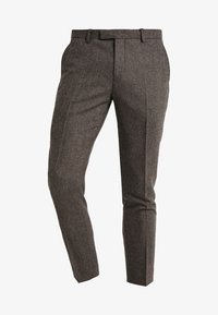 Twisted Tailor - MOONLIGHT TROUSERS - Oblekové kalhoty - brown - 4