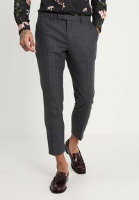 Twisted Tailor - MOONLIGHT TROUSERS - Oblekové kalhoty - charcoal - 0