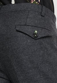 Twisted Tailor - MOONLIGHT TROUSERS - Oblekové kalhoty - charcoal - 5