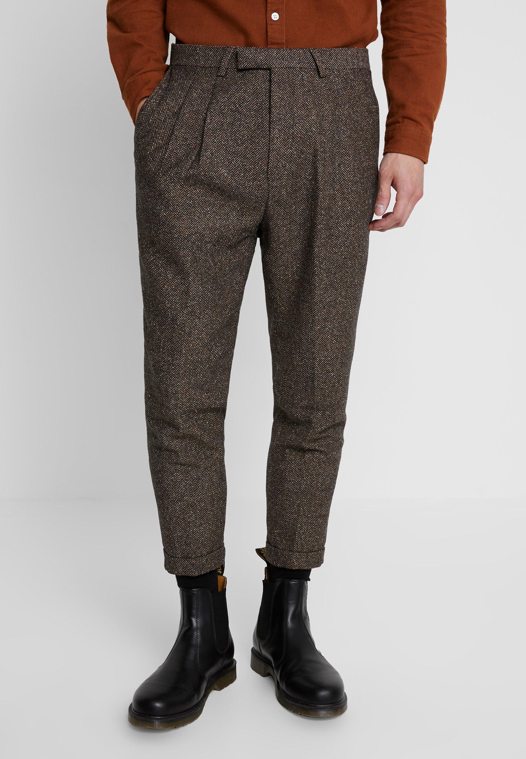 Snowdon TrouserPantalon Brown Tailor Classique Twisted hQtCsdr