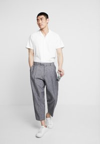 Twisted Tailor - DOORS TROUSER - Kalhoty - blue - 1