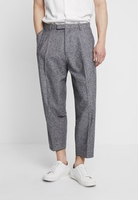 Twisted Tailor - DOORS TROUSER - Kalhoty - blue - 0