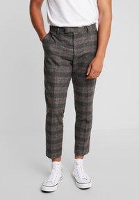Twisted Tailor - FEVER TROUSER - Spodnie materiałowe - grey - 0
