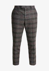 Twisted Tailor - FEVER TROUSER - Spodnie materiałowe - grey - 3
