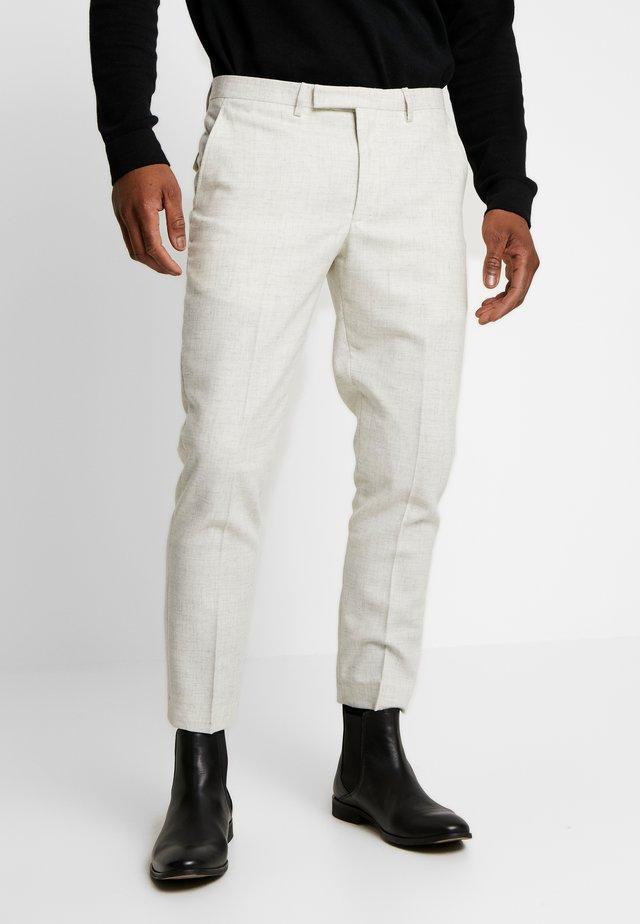MOONLIGHT TROUSER - Stoffhose - winter white