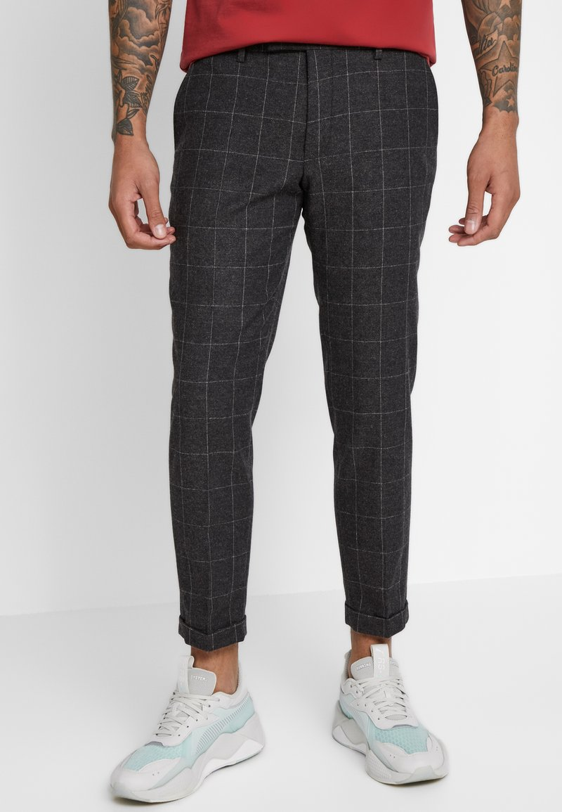 Twisted Tailor - TAYLOR TROUSER - Spodnie materiałowe - brown