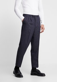 Twisted Tailor - TROUSER - Bukser - charcoal - 0
