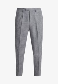 Twisted Tailor - CRAHAN TROUSER - Stoffhose - grey - 4