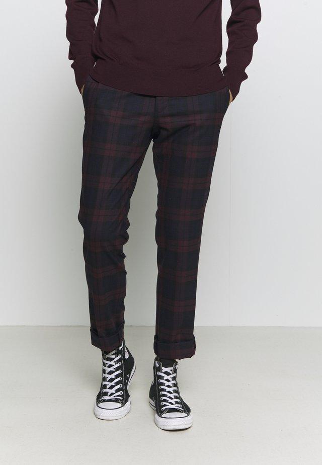 GINGER TROUSER - Pantalon classique - bordeaux