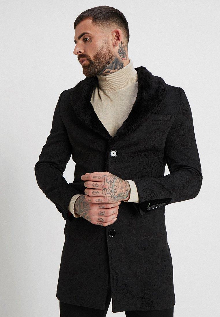 Twisted Tailor - GIBBONS COAT - Classic coat - black