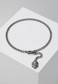 Twisted Tailor - ALBERT CHAIN - Klíčenka - shiny dark gunmetal - 0