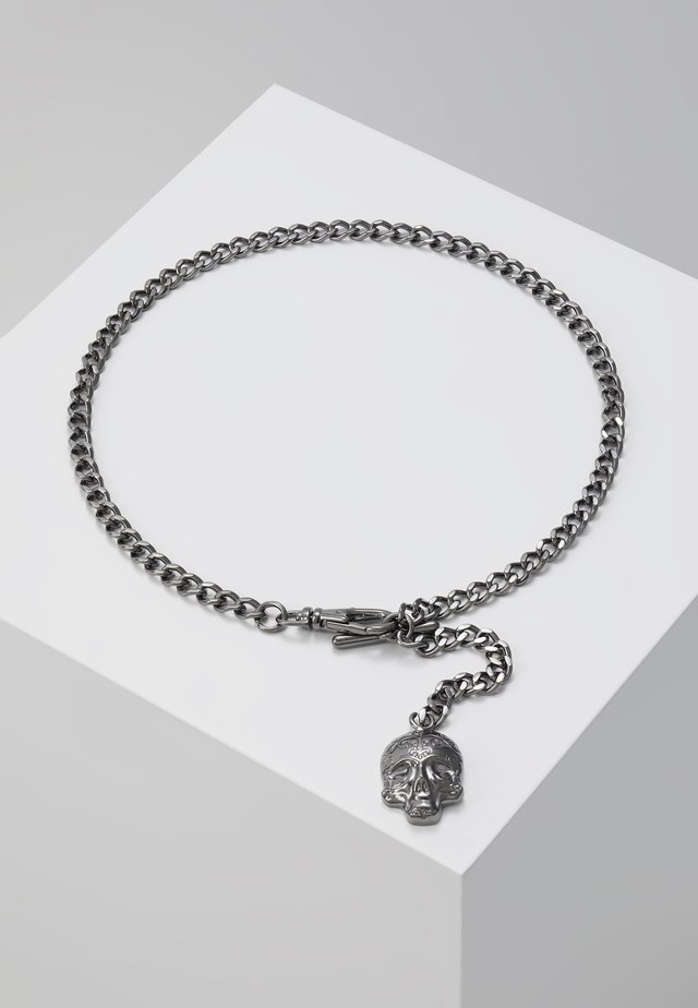 ALBERT CHAIN - Keyring - shiny dark gunmetal