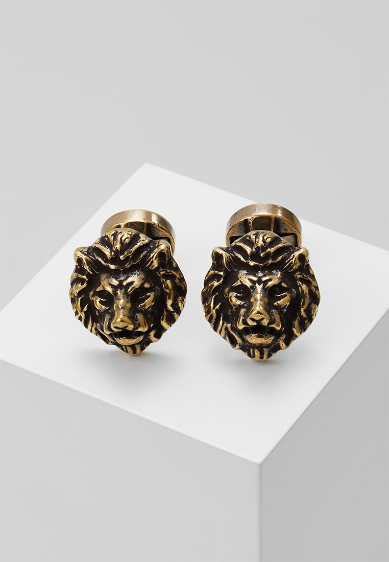 Twisted Tailor - CHAMBAL - Cufflinks - gold-coloured
