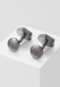 Twisted Tailor - QUINCY CUFFLINKS - Manžetové knoflíčky - dark gunmetal - 0