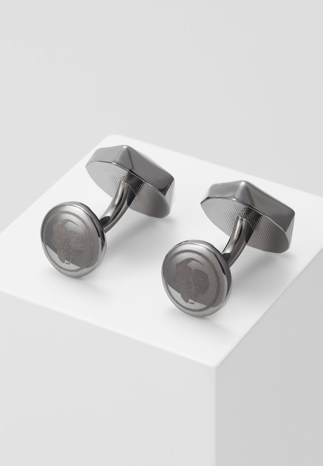 QUINCY CUFFLINKS - Cufflinks - dark gunmetal