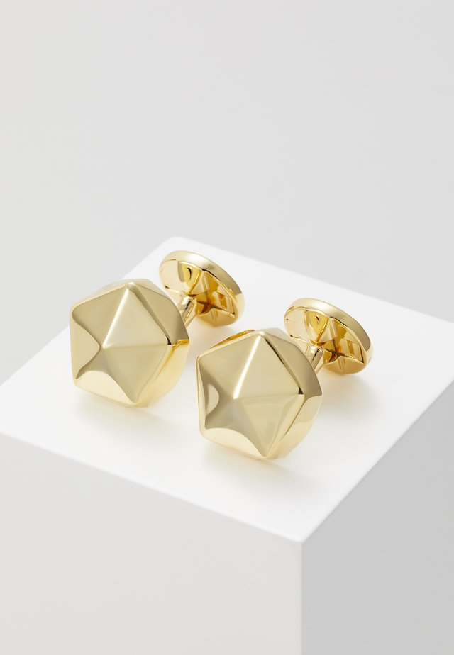 QUINCY CUFFLINKS - Cufflinks - gold-coloured