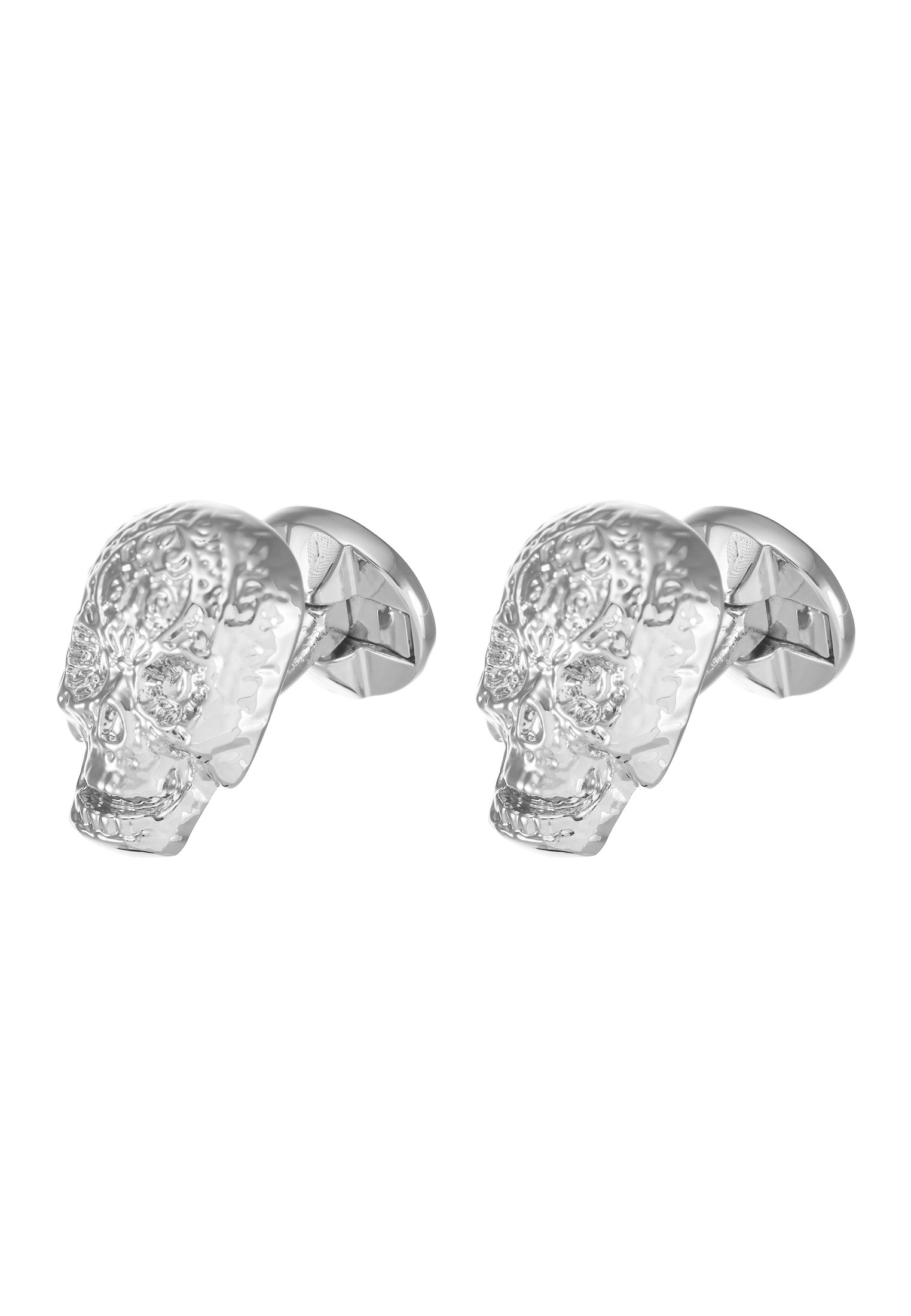 Twisted Tailor ERIC CUFFLINKS - Manschettknapp - shiny rhodium