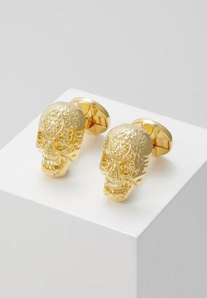ERIC CUFFLINKS - Manžetové knoflíčky - shiny gold-coloured